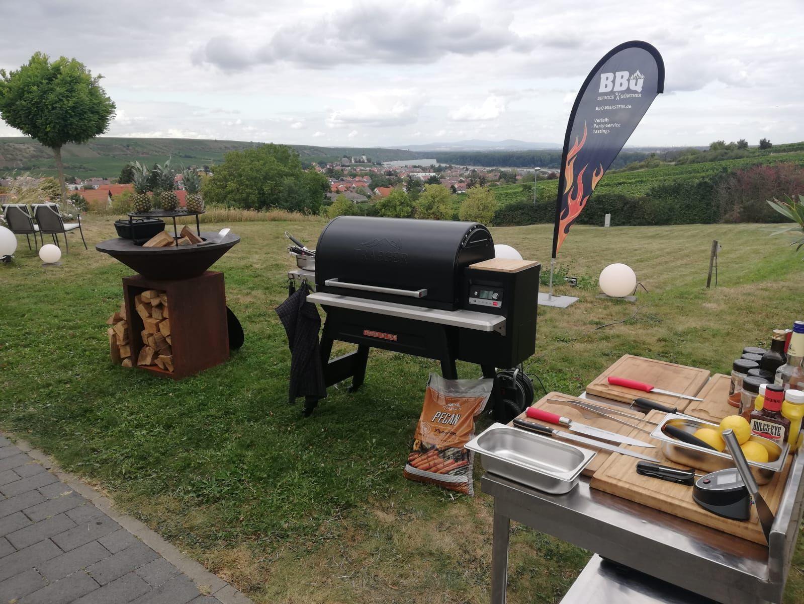 BBQ Nierstein Grillen in den Weinbergen